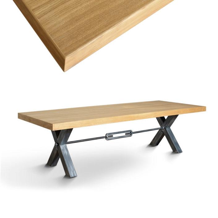 Zdjęcie produktowe, stół drewniany, packshot, fotograf reklamowy, lightup