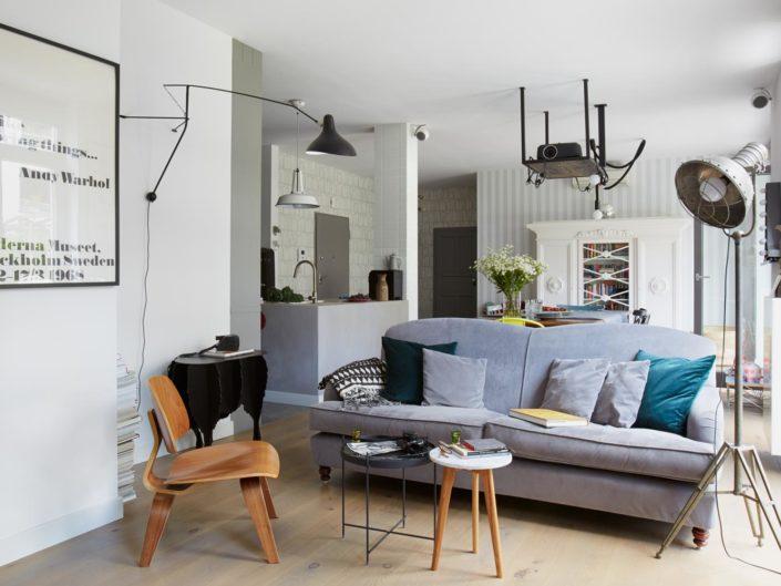 Loft jak marzenie - mieszkanie w Warszawie